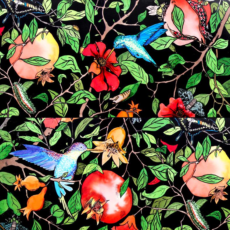 Colección Pomegranate Tree