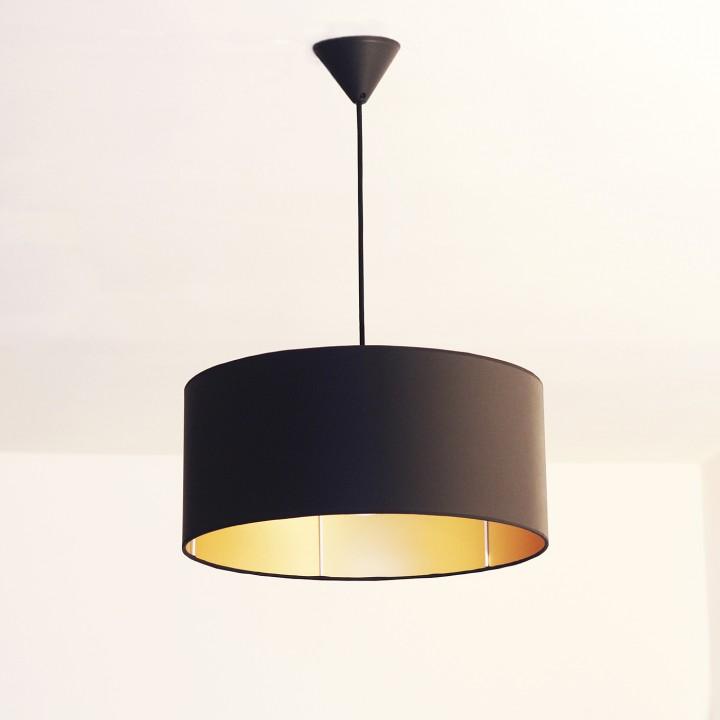 Lámpara de Techo Black & Gold XXL