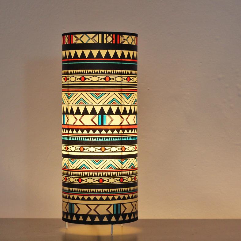 Lámpara de Mesa Alta Indiana Colour