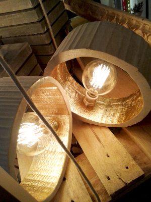 lamparas escaparate